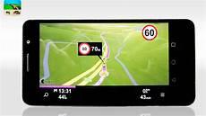sygic truck navigation anzeige und lkw route sind