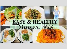5 EASY HEALTHY DINNER IDEAS FOR WEIGHT LOSS   YouTube