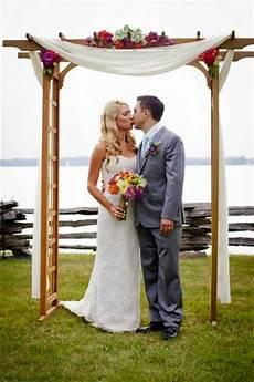 11 beautiful diy wedding arches