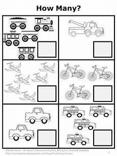 free counting worksheet kindergarten addition worksheet transportation theme kindergarten