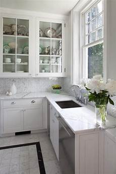 Carrara Marble Kitchen Backsplash 35 Beautiful Kitchen Backsplash Ideas Hative