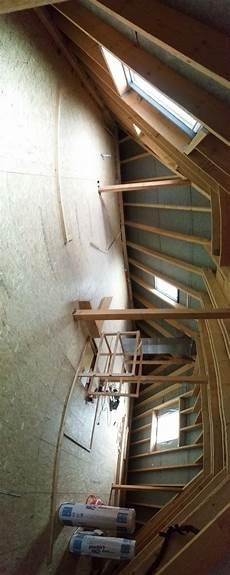 Garage Dachboden Ausbauen by Dach Ausbau Teil 1 Unser Haus