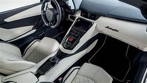 2018 Lamborghini Aventador S Roadster 4K Interior