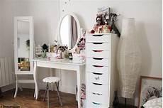 Coin Makeup Chokomag Beaut 233 Coiffeuse Ikea Tiroirs