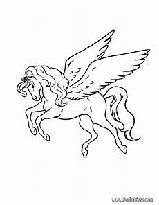 Malvorlagen Wings Unicorn Pegasus Coloring Page Coloring Pages Unicorn