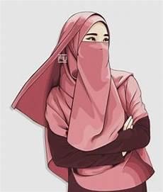 75 Gambar Kartun Muslimah Cantik Dan Imut Bercadar