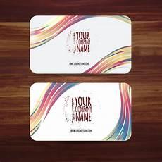 business card template illustrator business card template vector illustration with colorful