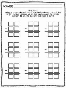 2 digit subtraction game without regrouping by susan