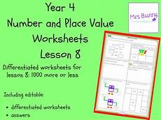 place value worksheets year 4 tes 5357 1000 more or less worksheets year 4 number and place value teaching resources