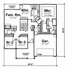1350 sq ft house plan house plan 120 1350 3 bedroom 1724 sq ft ranch