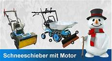 Schneeschieber Mit Motor
