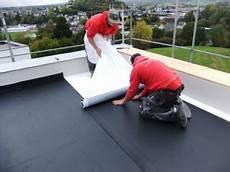 Verlegen Ohne Mechanische Befestigung Dach Holzbau