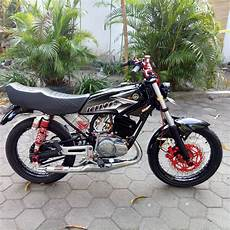 Rx King 2004 Modif by Kumpulan Modifikasi Motor Rx King Warna Hitam Terlengkap