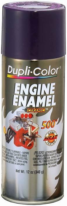 dupli color paint de1640 dupli color engine paint with ceramic plum purple 12 oz aerosol