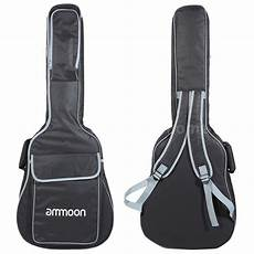 acoustic guitar soft cases 40 quot 41 quot acoustic guitar zipper padded guitar soft gig bag z0q8 ebay