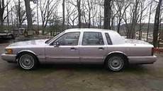 auto air conditioning repair 1992 lincoln town car instrument cluster sell used 1992 lincoln town car executive sedan 4 door 4 6l low mileage excellent in