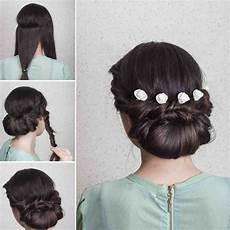 wedding hairstyles elegant updo tutorial in 10 easy steps