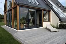 veranda bois sur terrasse veranda styledevie fr