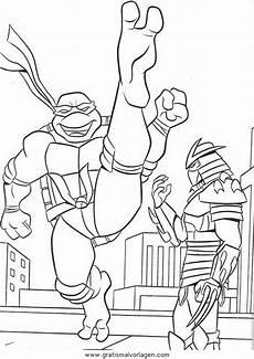Malvorlagen Turtles Zum Drucken Turtles11 Gratis Malvorlage In Comic