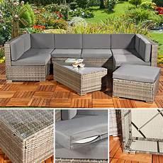 polyrattan lounge grau polyrattan sofa sitzgruppe lounge grau kaufen bei mucola