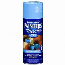 shop rust oleum 12 oz caribbean blue gloss spray paint at