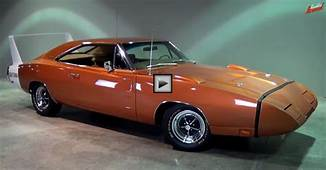 1969 DODGE CHARGER DAYTONA IN ACTION  HOT CARS