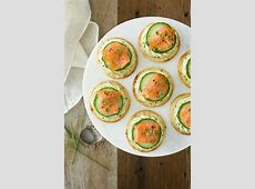 avocado with salmon appetizer image