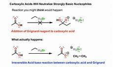 common mistakes with carbonyls carboxylic acids are acids master organic chemistry