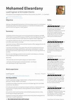 application engineer resume sles and templates visualcv
