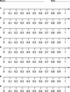 worksheet decimal number line 7222 number line 0 to 1 by tenths math decimal number 4th grade math numbers