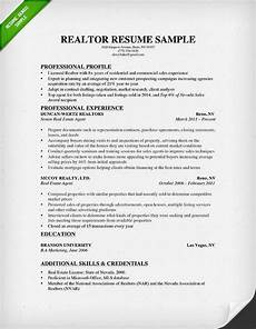 real estate resume real estate resume writing guide resume genius