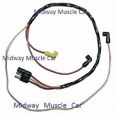 69 70 Ford Mustang Mercury Engine Feed Wiring