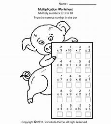 multiplication activity worksheets grade 3 4734 multiply numbers by 1 to 10 kindergarten addition worksheets printable math worksheets