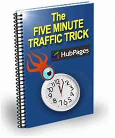 5 minuten tricks the five minute traffic trick ebooks