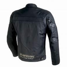 motorradjacke herren leder spark herren leder motorradjacke schwarz insportline