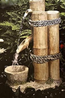 Fontaine Bambou Garden Pond Bamboo