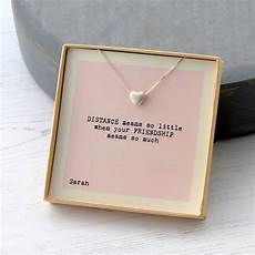 distance means so friendship necklace by