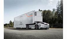 volvo commercial vehicles volvo trucks showcases zero emission driverless tractor