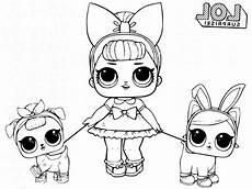 unicorn lol doll coloring page lol doll