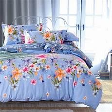 country style floral print bedding set queen king size