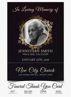 free template funeral cards 26 funeral thank you cards psd ai eps free
