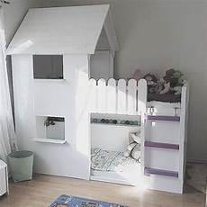 lit enfant ikea lit ikea transforme en cabane chambre enfants diy en