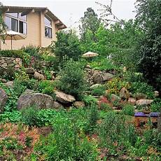 Garten Am Hang Anlegen Ideen Optimale L 246 Sungen F 252 R