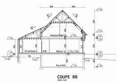 plan de coupe construire sa maison avec sismo