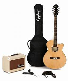 epiphone pr 4e acoustic electric guitar epiphone pr 4e player pack sweetwater
