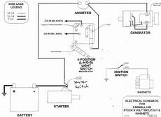 farmall m light switch diagram farmall light switch wiring diagram image