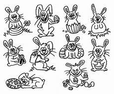 Malvorlage Osterhase Klein Osterhasen Mit Bildern Osterhase Ostern Hase
