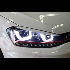 Led Gti Style Uu Xenon Hid Headlights For Volkswagen Golf
