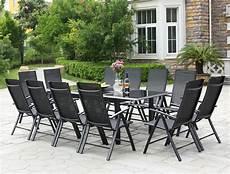 table de jardin extensible ravenne 12 chaises en