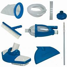 intex deluxe cleaning maintenance swimming pool kit with